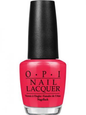 Opi Лак для ногтей Shes a Bad Muffaletta!, 15 мл. Цвет: розовый