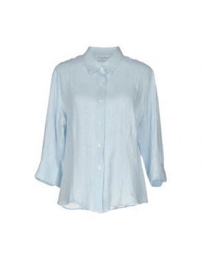 Pубашка AMINA RUBINACCI. Цвет: небесно-голубой