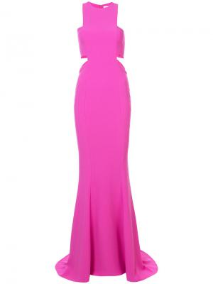 Вечернее платье Millburry Likely. Цвет: розовый и фиолетовый