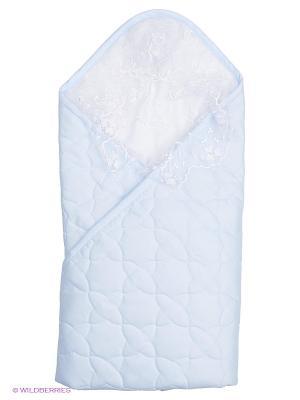 Одеяло-конверт Ласточка Сонный гномик. Цвет: голубой