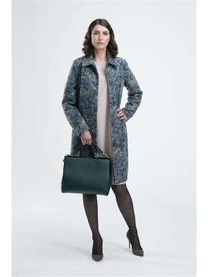 Пальто Modern. Цвет: зеленый