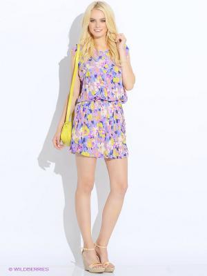Платье MONOROOM. Цвет: фиолетовый