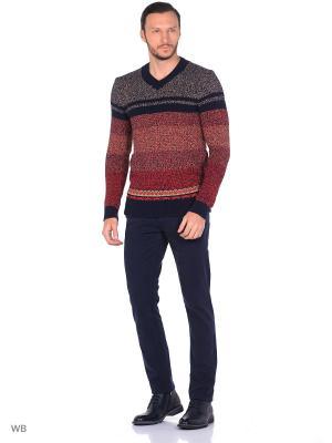 Пуловер Colin's. Цвет: оранжевый