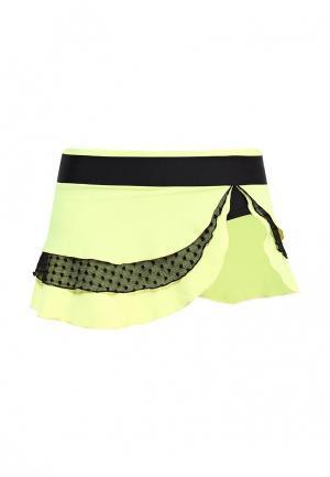 Юбка-шорты Dali. Цвет: желтый