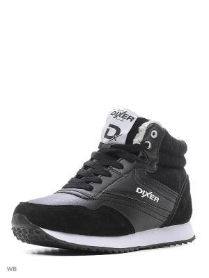 Ботинки DIXER. Цвет: черный