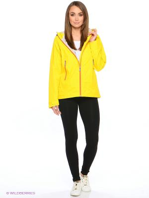 Куртка Bergans. Цвет: желтый