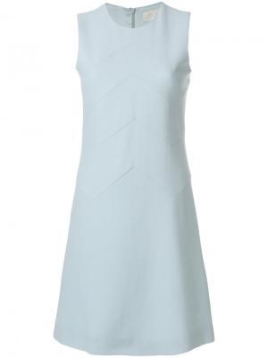 Платье-шифт Freya Goat. Цвет: синий