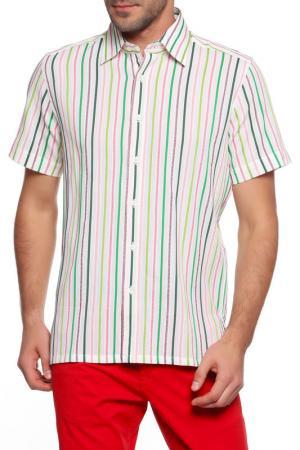 Рубашка Christian Lacroix. Цвет: молочный, полоска мультиколор