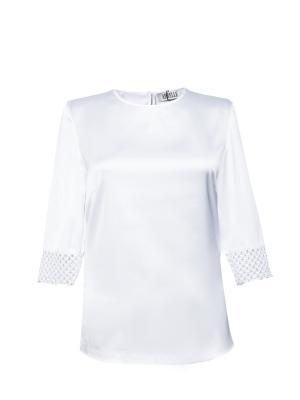 Блузка APRELLE. Цвет: белый