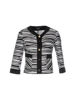 Пиджак TO-MAY. Цвет: черный
