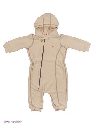 Комбинезон для малышей ЛисФлис. Цвет: бежевый, коричневый, молочный
