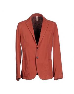 Пиджак J.W. TABACCHI. Цвет: кирпично-красный