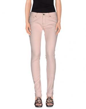Джинсовые брюки VINTAGE 55. Цвет: светло-розовый