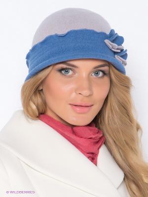 Шляпа Ваша Шляпка. Цвет: серый, синий