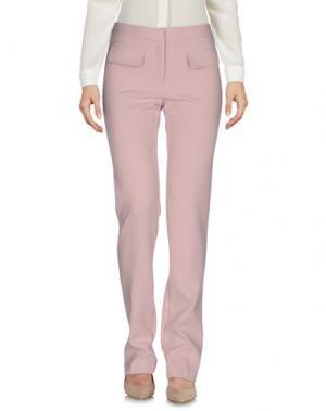 Повседневные брюки AXARA PARIS. Цвет: пастельно-розовый