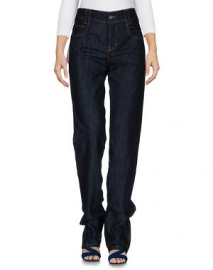 Джинсовые брюки GALLIANO. Цвет: синий