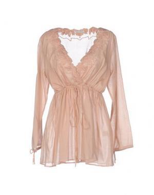Блузка AMBRE BABZOE. Цвет: песочный