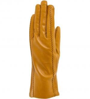 Перчатки Bartoc. Цвет: желтый