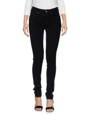 Джинсовые брюки DR. DENIM JEANSMAKERS. Цвет: черный