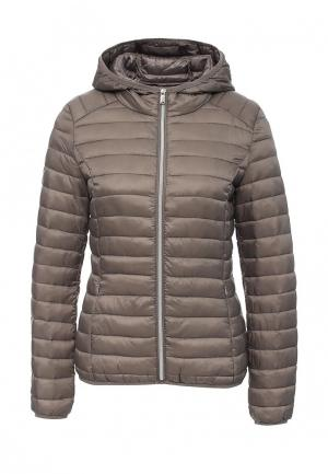 Куртка утепленная By Swan. Цвет: серый