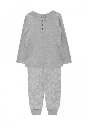 Пижама Gulliver. Цвет: серый