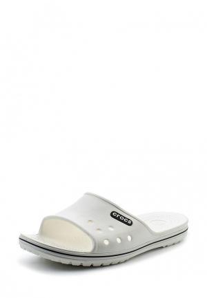 Шлепанцы Crocs. Цвет: белый
