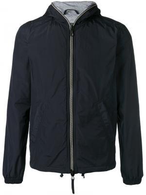 Легкая стеганая куртка Duvetica. Цвет: синий