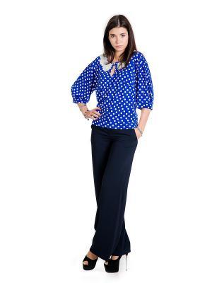 Блузка Glam Goddess. Цвет: синий