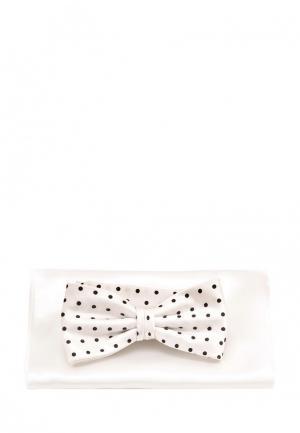 Комплект бабочка и платок Greg. Цвет: белый