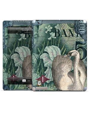 Виниловая наклейка для iPad Swan Post Finchley-Paper Arts Ltd. Gelaskins. Цвет: серо-зеленый, серый