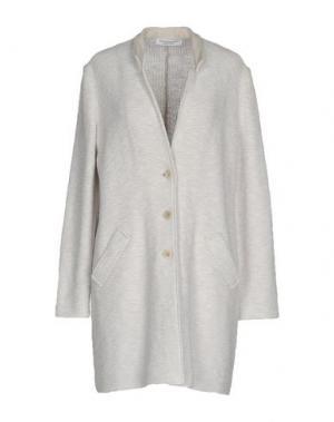 Легкое пальто AMINA RUBINACCI. Цвет: белый
