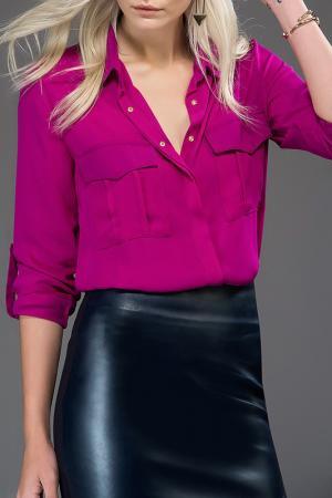 Рубашка Milla. Цвет: фиолетовый