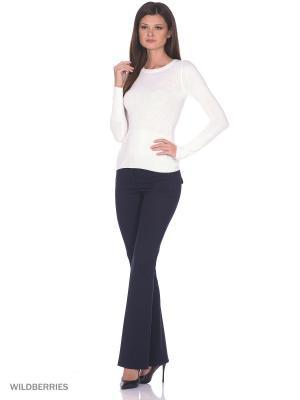 Женский вязаный джемпер с длинными рукавами SMART&FANCY. Цвет: белый