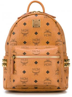 Маленький рюкзак Stark MCM. Цвет: телесный