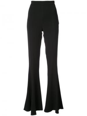 Расклешенные брюки Cushnie Et Ochs. Цвет: чёрный