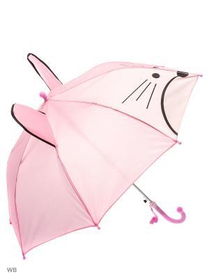Зонт Modis. Цвет: розовый, белый