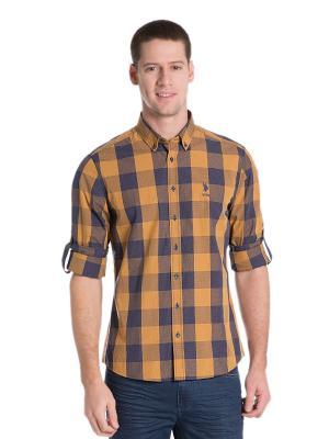 Рубашки U.S. Polo Assn.. Цвет: желтый