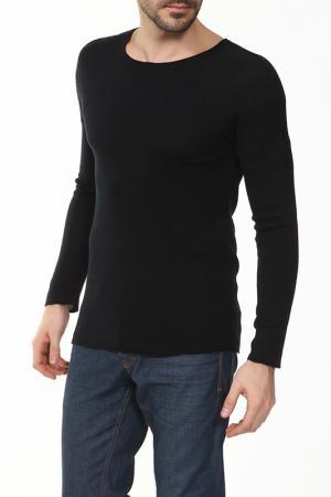 Пуловер вязаный Aviatic. Цвет: синий