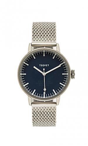 Часы svt-sc38 Tsovet. Цвет: металлический серебряный