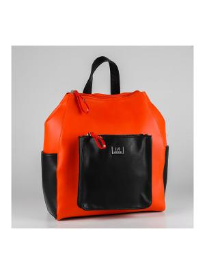 Рюкзак Sabellino. Цвет: оранжевый