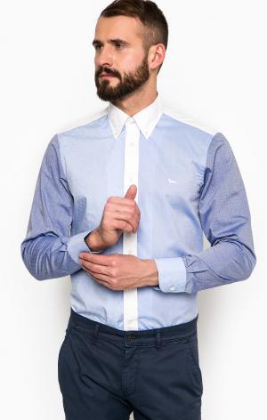 Рубашка HarmontBlaine. Цвет: синий