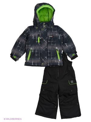 Комплект одежды Gusti. Цвет: темно-серый, зеленый, антрацитовый