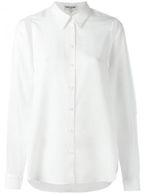 Рубашка с рукавами-кап Opening Ceremony. Цвет: белый