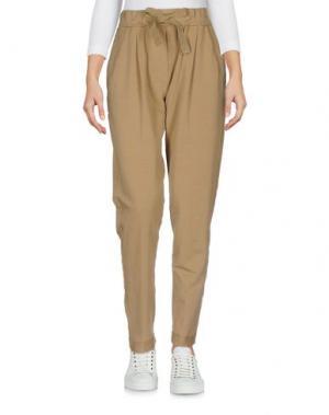 Повседневные брюки ANOTHER LABEL. Цвет: хаки