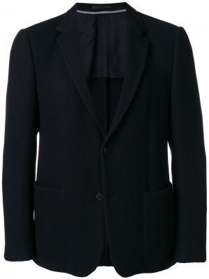Классический пиджак Z Zegna. Цвет: синий