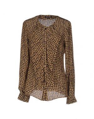 Pубашка WALTER VOULAZ. Цвет: темно-коричневый