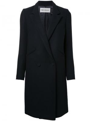 Классическое пальто Taro Horiuchi. Цвет: чёрный