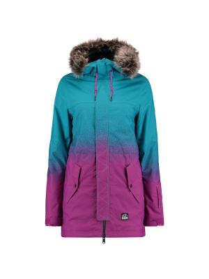 Куртка O'Neill. Цвет: фиолетовый, голубой