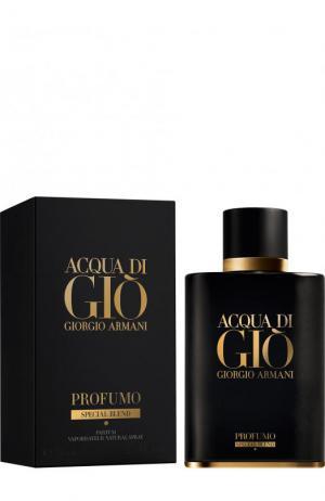 Парфюмерная вода Acqua Di Gio Profumo Special Blend Giorgio Armani. Цвет: бесцветный