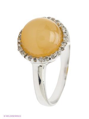 Кольцо BALEX. Цвет: серебристый, желтый